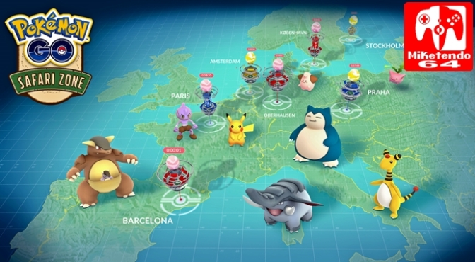 """Niantic Go All Out with Details for New and Upcoming Pokémon GO Events, including """"Safari Zone!"""""""