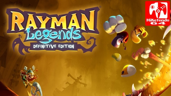 [Europe] Rayman Legends Definitive Edition Demo Added & Removed From Switch eShop