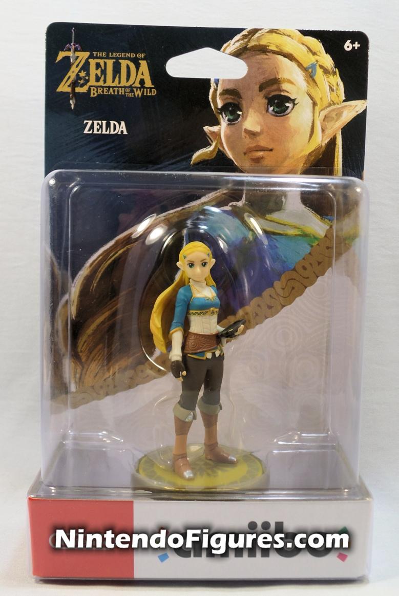 Zelda The Legend of Zelda Breath of the Wild Amiibo Box Front
