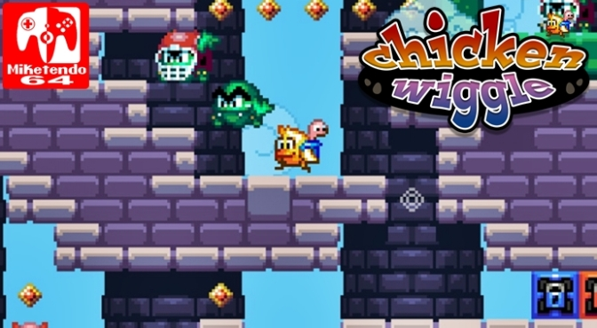 [Video] Chicken Wiggle: 02 Create – Nintendo 3DS Gameplay