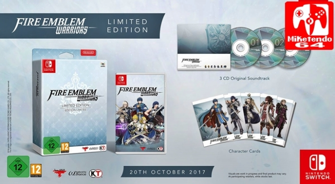 [Europe] Fire Emblem Warriors Releases October 20th and First Details on European Limited Edition are Disclosed