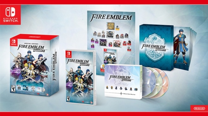 Nintendo America Announce Contents And Price Of FE Warriors & Pokémon US & UM Special Editions