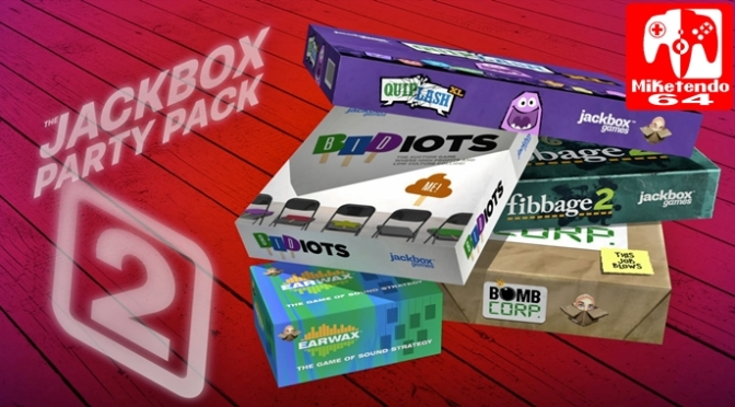 [Review] The Jackbox Party Pack 2 (Nintendo Switch ...
