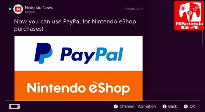 Nintendo Account Holders the World Over can Now Sync their Nintendo Account to PayPal