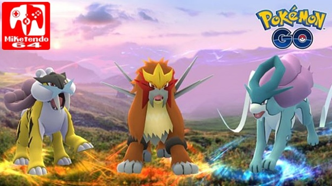 Pokémon GO Will See Suicine, Entei & Raikou As Raid Bosses
