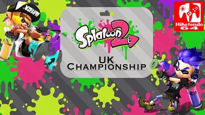 [Video] Splatoon 2 – Sign up for the Splatoon 2 UK Championship (Nintendo Switch)