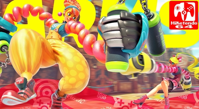 [Random] Yet Another Look at ARMS' Newest Teased Fighter (November 2017)