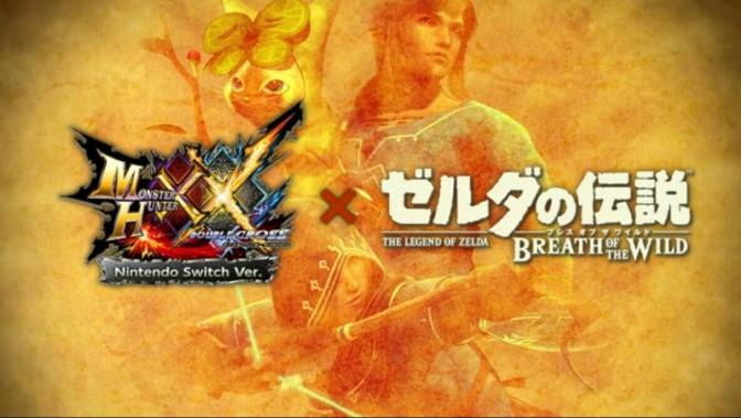 [Video] Monster Hunter Double Cross X Zelda: Breath Of The Wild DLC