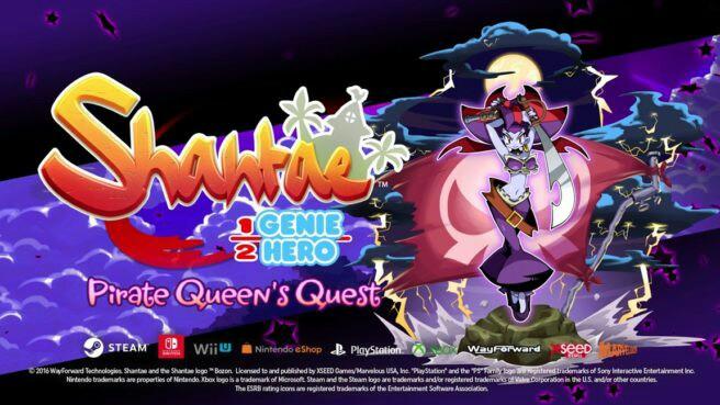 Shantae 1/2 Genie Hero: Pirate Queen's Quest DLC Launches August 29th