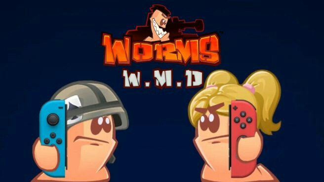 [Video] Worms W.M.D For Switch Official Announcement & Trailer