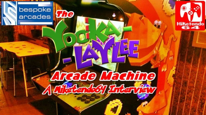 [Interview] Creating The Wondrous Yooka-Laylee Arcade Machine
