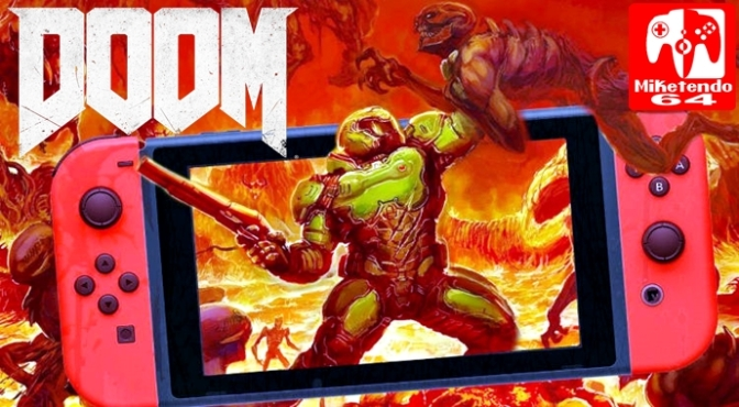 Prepare to Meet Your Doom when Bethesda's DOOM comes to Switch this November