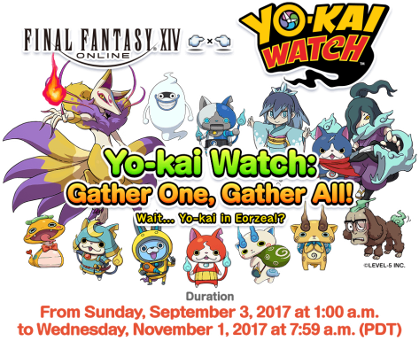 FF XIV X Yo-Kai Watch