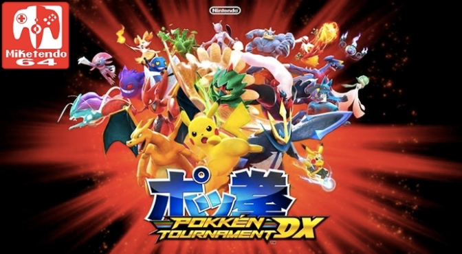 [Patch Notes] Pokkén Tournament DX Version 1.1.0
