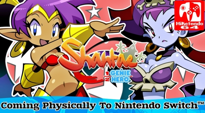 [Press Release] PQube are Bringing Physical Shantae: Half-Genie Hero Ultimate Edition to Europe in 2018