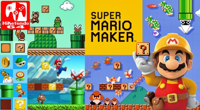 [Patch Notes] Super Mario Maker Wii U Version 1.47 and 3DS Version 1.04
