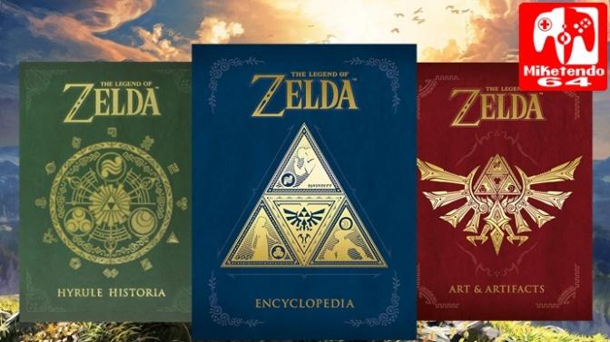 Zelda Encyclopedia Heading To North America April 2018