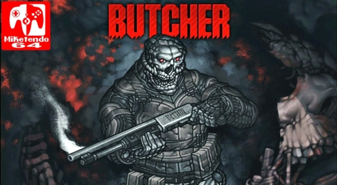 [Review] Butcher (Nintendo Switch)