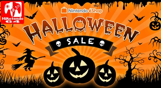 [Europe] eShop Based Halloween Sale Starts on October 24th and Ends on November 2nd