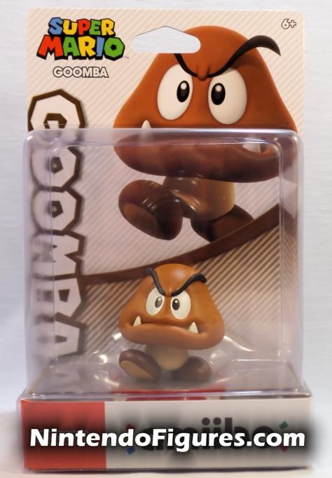 Goomba Amiibo Box Front Super Mario Nintendo Mario & Luigi Superstar