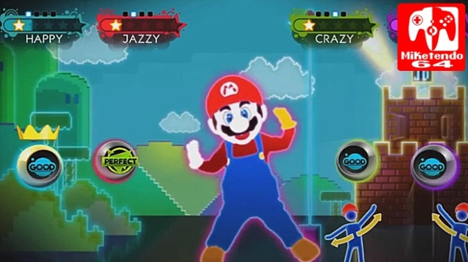 "Just Dance 2018 To Receive ""Just Mario"" Exclusive Map On Nintendo Switch"