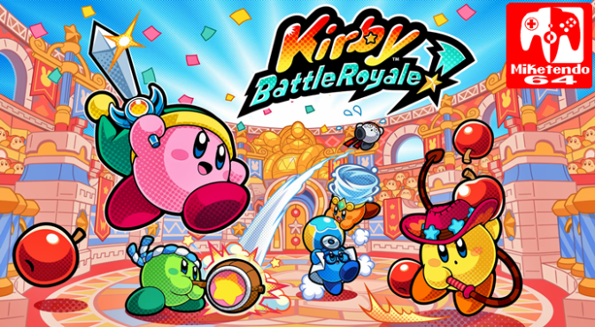 [Press Release] Its Kirby vs Kirby when Kirby Battle Royale Launches on 3DS this November for Europe with a Demo out Now!