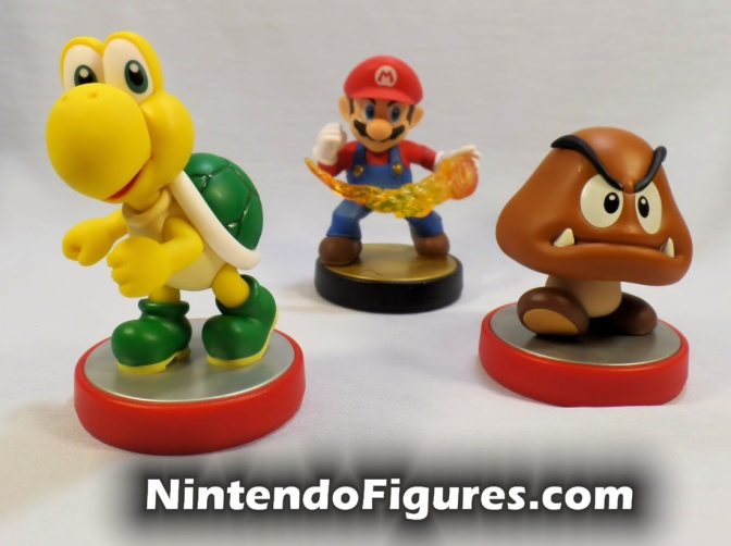 Goomba and Koopa Troopa Amiibo Review