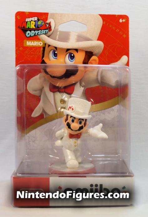 Mario Super Mario Odyssey Amiibo Box Front