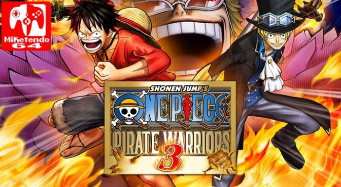 One Piece: Pirate Warriors 3 Deluxe Edition is the Latest Warriors Game to be revealed for Switch