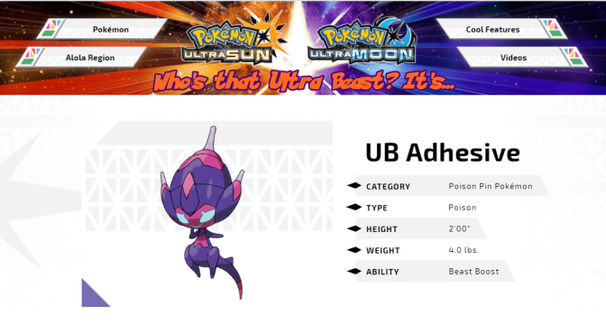 [Feature] Who's That Ultra Beast? It's UB Adhesive!