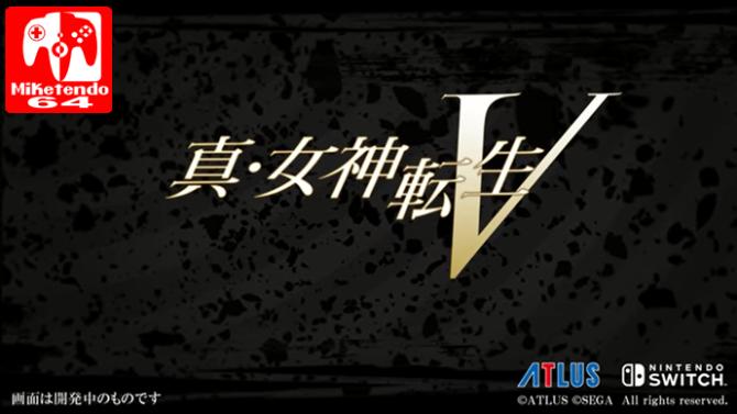 [Video] Shin Megami Tensei V Teased For Nintendo Switch