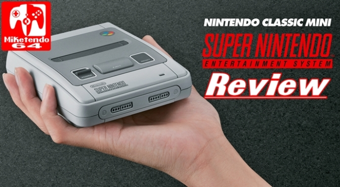 [Review] SNES Mini (It's like holding your Childhood in a Single Hand!)