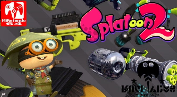 "Ammo Knights Newsletter #4: SplatNet2 News and Inkbrush Nouveau will be ""Ink-stock"" Tonight/Tomorrow"