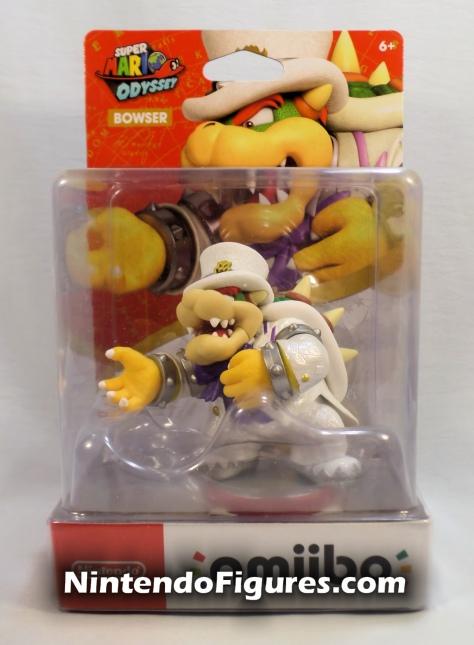 Bowser Super Mario Odyssey Amiibo Box Front