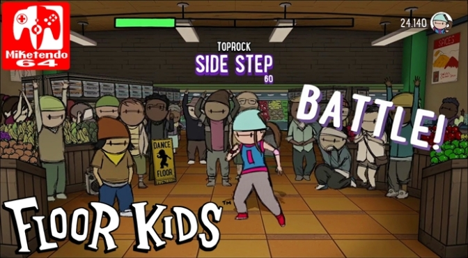 [Video] Kick off Those Dancing Shows when Floor Kids Comes to Switch this Holiday