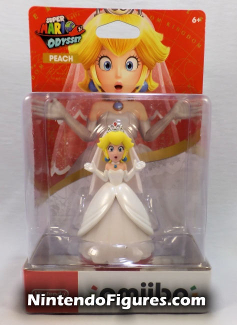 Princess Peach Super Mario Amiibo Box Front