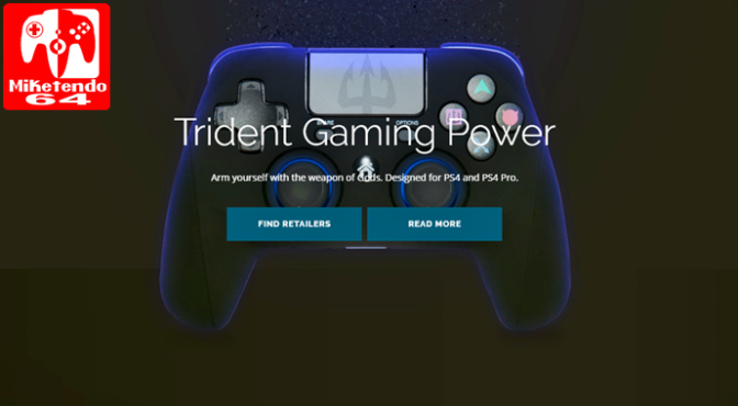 [Press Release] Game Devil Reveal the Switch Trident PRO-S Controller for Nintendo Switch
