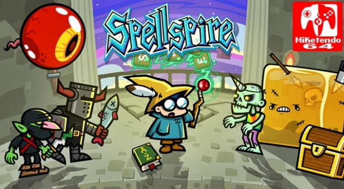 [Press Release] 10tons' Spellspire will Cast its Spell on Switch when it Releases November 9th