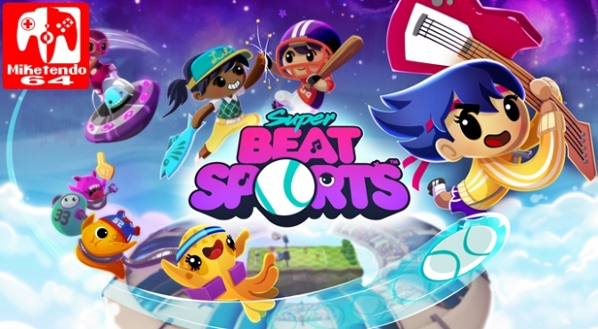 [Review] Super Beat Sports (Nintendo Switch)