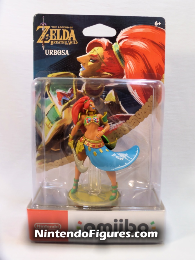 Urbosa Zelda: Breath of the Wild Amiibo Review