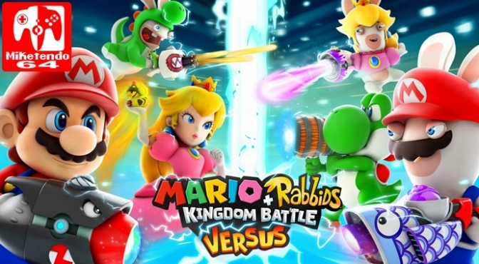 A Lesson in What to Expect from Mario + Rabbids Kingdom Battle Versus Update, which is Out Now
