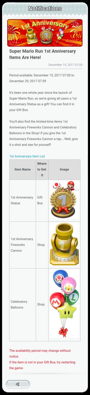 SMR 1st Ann gifts
