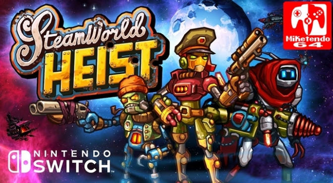 Revisit the SteamWorld when SteamWorld Heist: Ultimate Edition Launches Exclusively on Switch December 28th