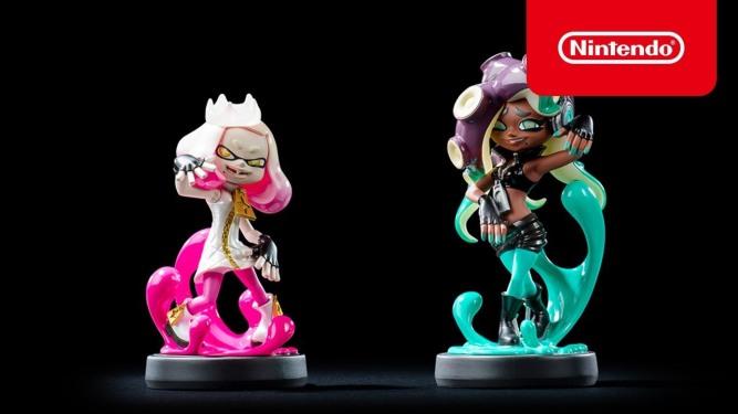 Pearl and Marina Amiibo Splatoon 2 Nintendo